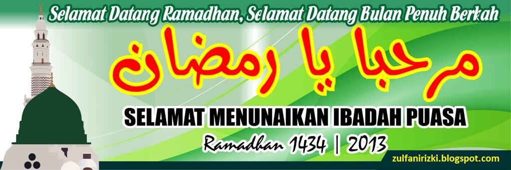 Banner Spanduk Ramadhan