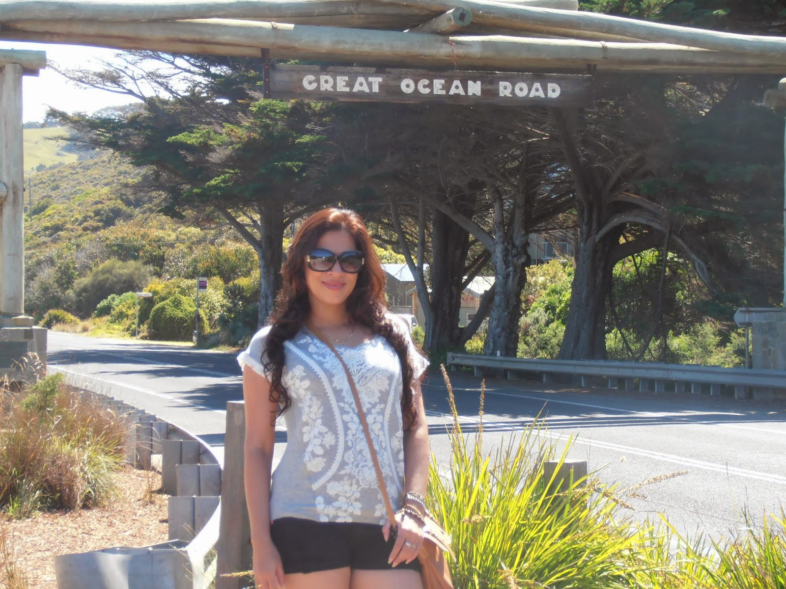 Anusha Rajapaksha at Great ocean road