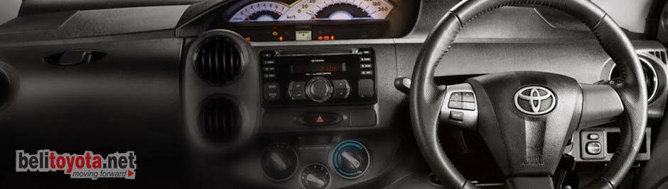 Interior Toyota Etios Valco