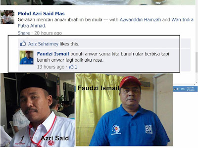 Andai Anwar Ibrahim ditembak mati, kita tahu siapa pembunuhnya