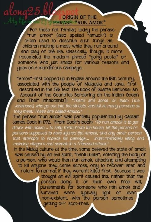 blog along25 perkataan amuk mengamuk orang amuk mat salleh mat saleh omputih perkataan melayu jawa