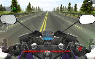 Game Android Traffic Rider Permainan Kebut Kebutan Gas Pol Jalanan cover
