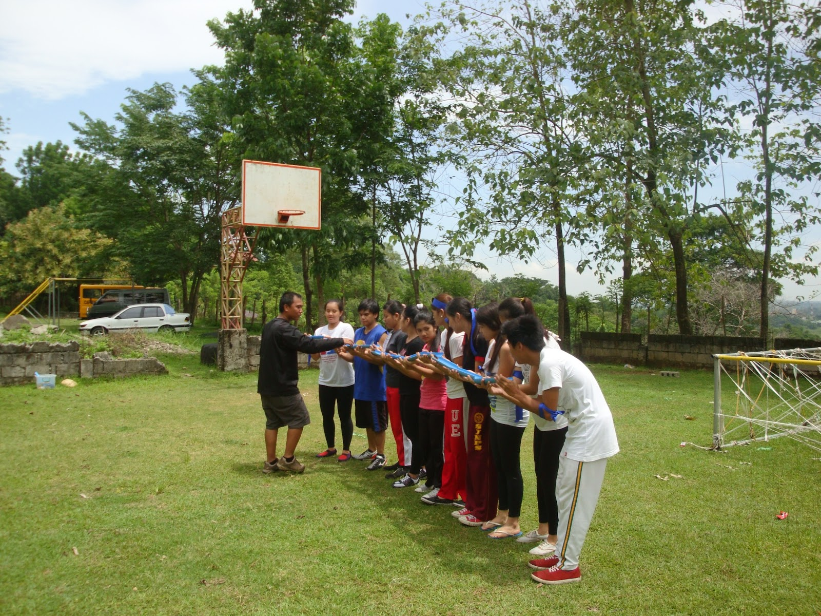 Chingky Quijano Team Building Falcon Crest Resort