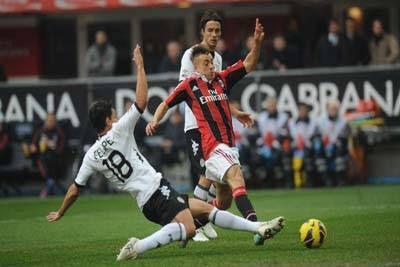 Cagliari vs AC Milan Live In Diretta Stream 10 February 2013
