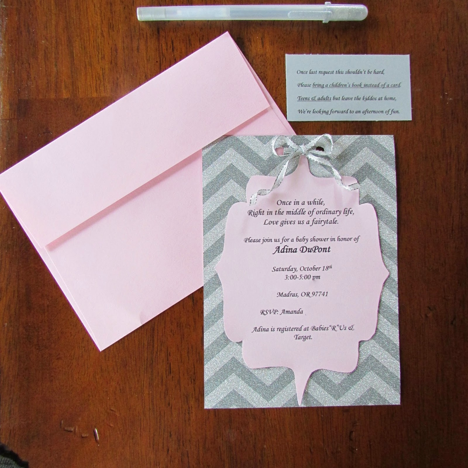 the boisebombshell diy baby shower invites
