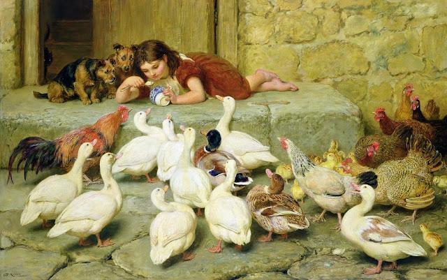animal farm,cute girl,little girl