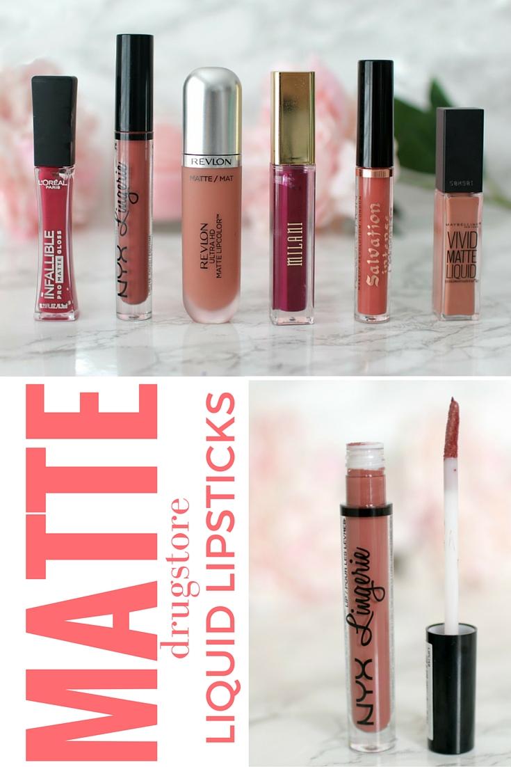 Fabuleux Elle Sees|| Beauty Blogger in Atlanta: Drugstore Matte Liquid  EO33