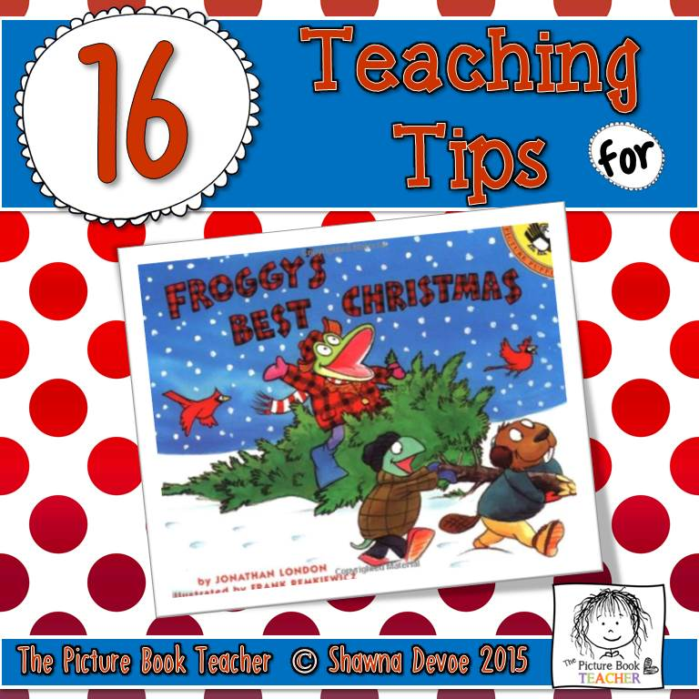 froggys best christmas by jonathan london teaching ideas - Best Christmas Books