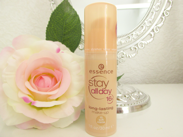 essence Stay All Day Long-Lasting Make-Up 15 soft creme Neuheiten Herbst 2014