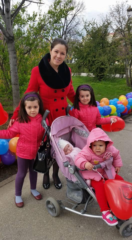 Eu cu fetele mele - martie 2016