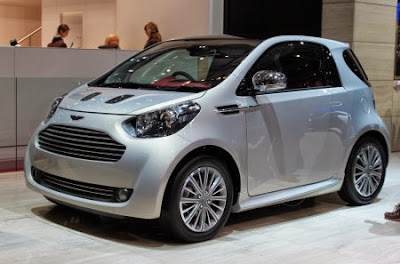 Aston Martin Cygnet Retired