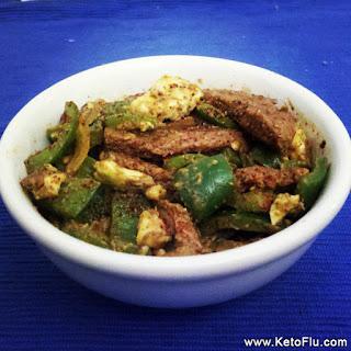 KetoFlu.com Beef Sirloin Stir Fry