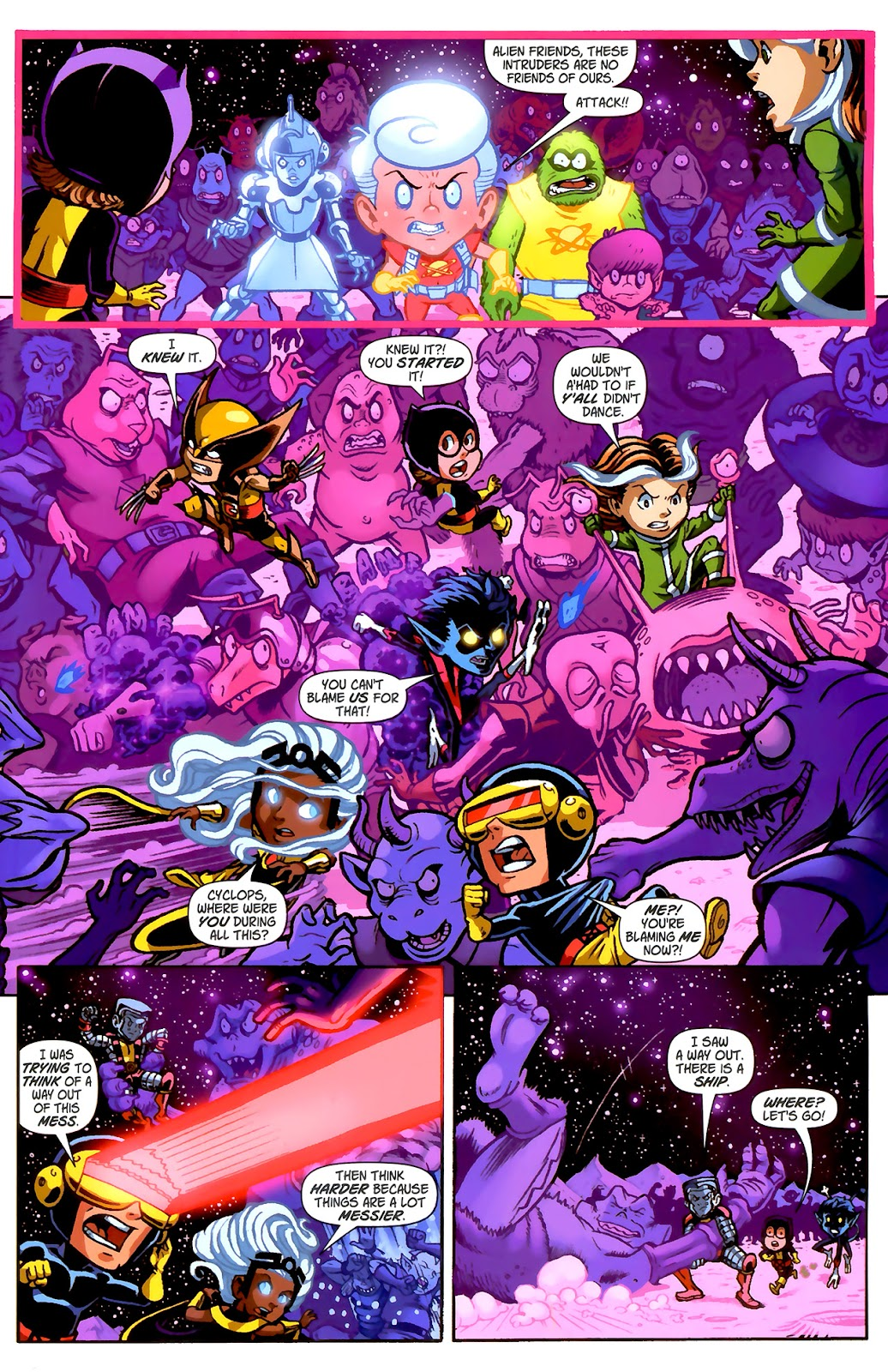 Read online X-Babies comic -  Issue #2 - 9