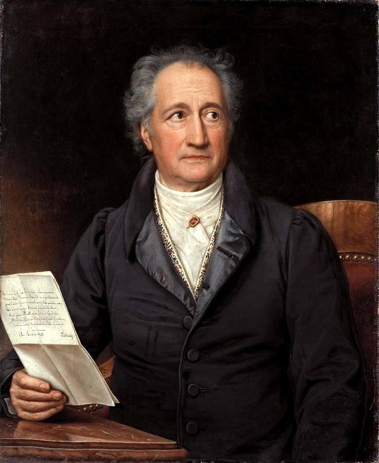 Frases de Johann Wolfgang von Goethe
