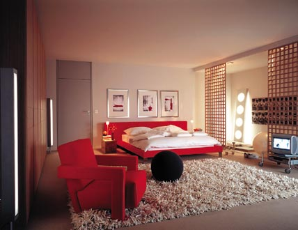 inspiring 3 red bedroom design ideas