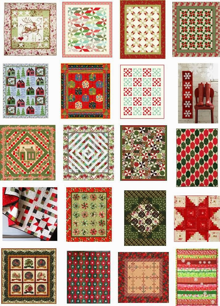 Quilting Patterns Xmas Free : Circle Tree quilt , 27x40