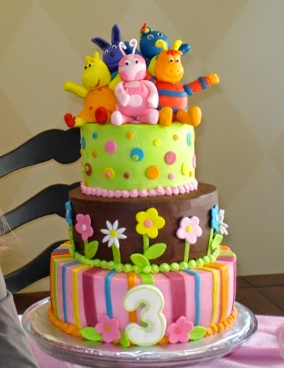 Tortas Decoradas de los Backyardigans
