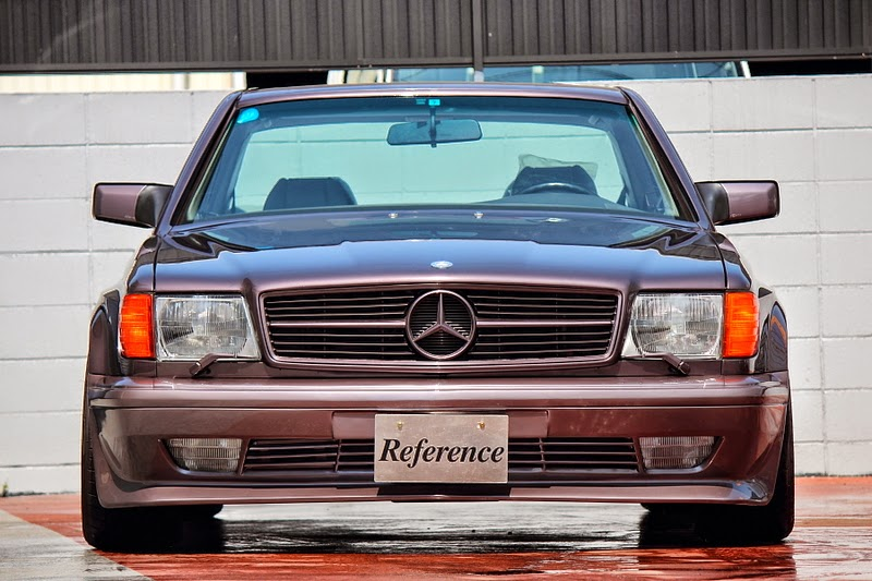 Mercedes Benz W126 560sec Amg From Japan Benztuning