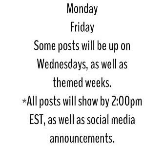 Post Schedule: