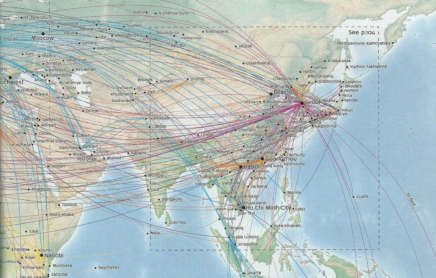 The Timetablist: KLM: The East Asian Routes October 2011 #447188