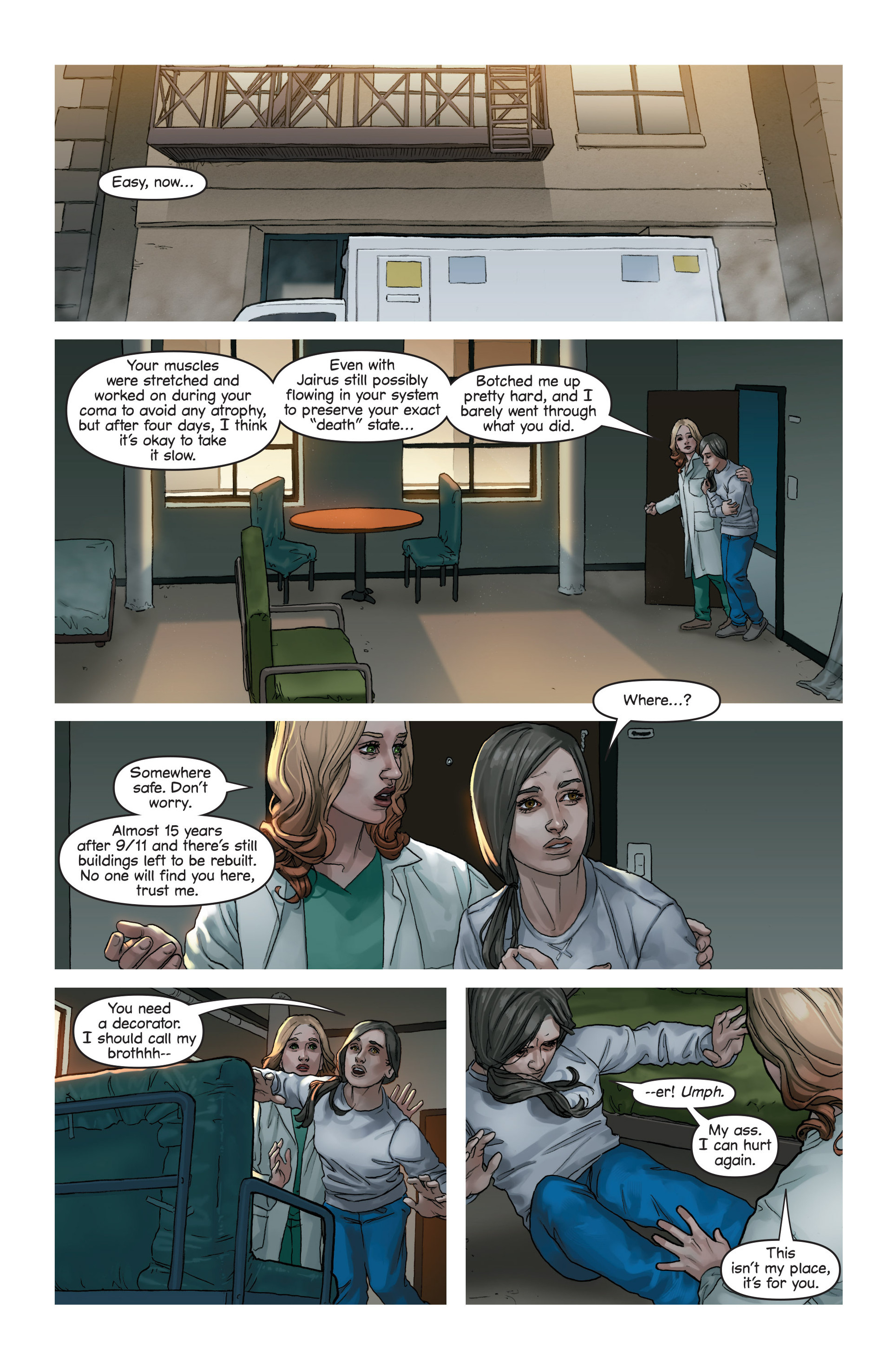 Read online Mind The Gap comic -  Issue #17 - 12