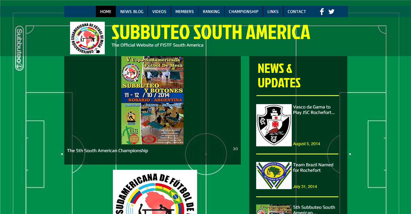 Subbuteo South America