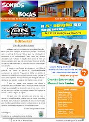 1ª Edição do Jornal  Sonhos& Bocas