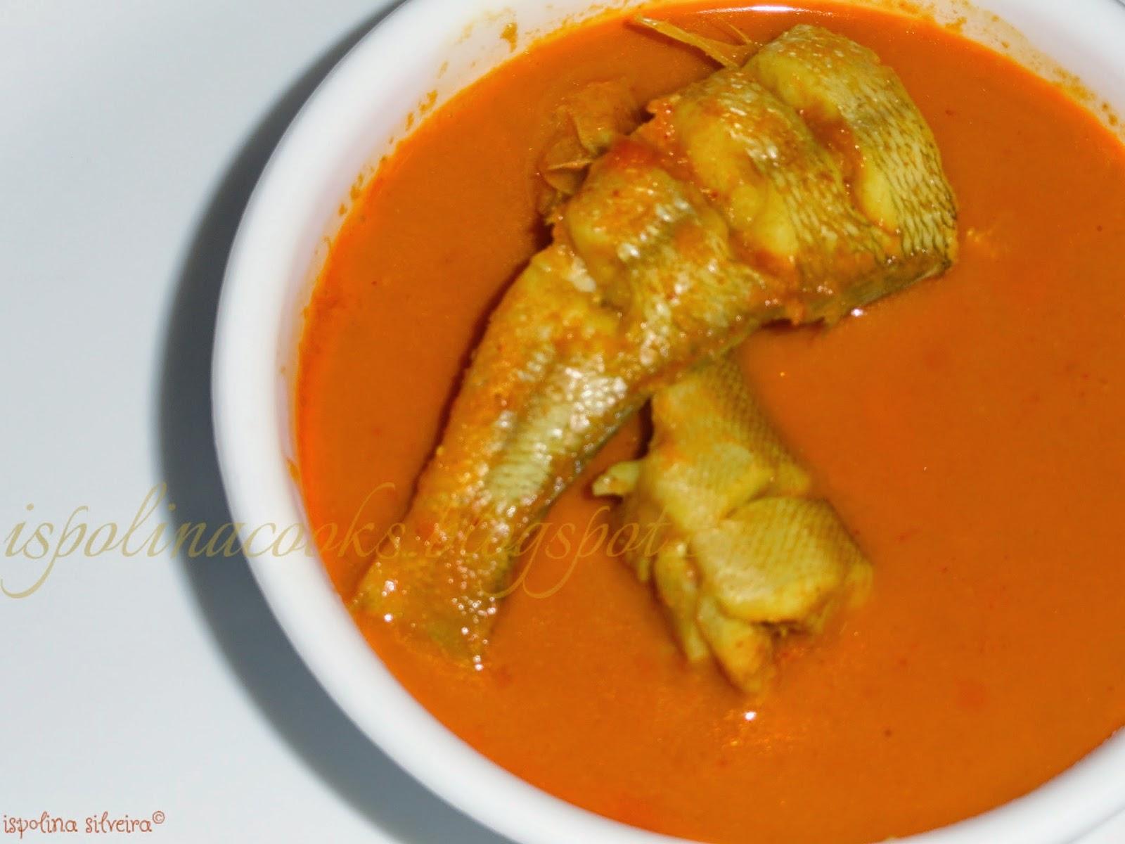 Cocina & Ispolina: Goan Style Fish curry & Fish fry !!!