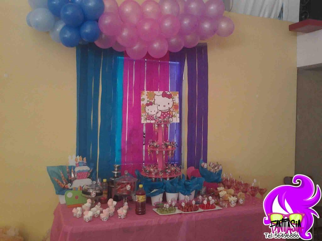 Fantasia fiestas tematicas fiestas tematicas decoracion - Decoracion con globos ...