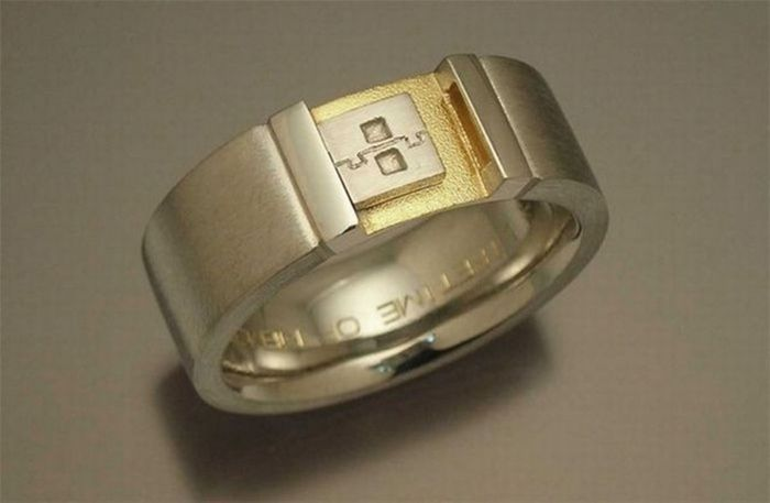 Chill Box Of Pics Geeky Engagement Rings. Design Engagement Rings. Yellow Stone Engagement Rings. Sovereign Rings. White Sapphire Rings. Celeb Wedding Rings. Wife Trump Wedding Rings. Vedic Rings. Engraved Engagement Rings