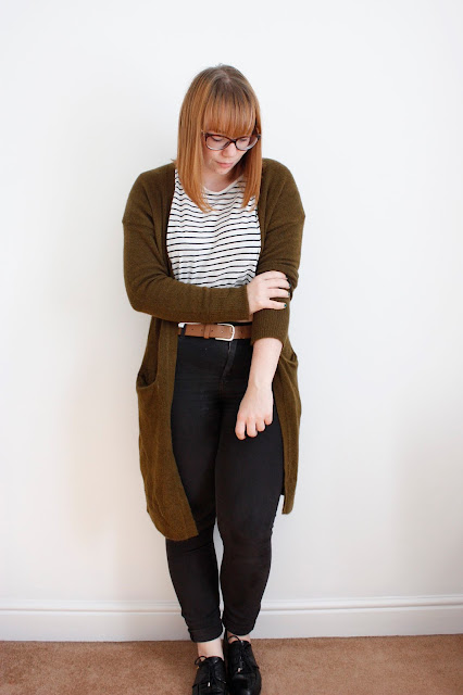 striped top from monki