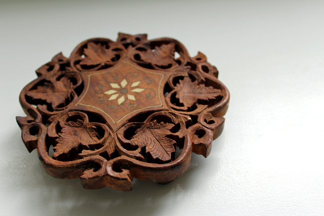 carved wood india