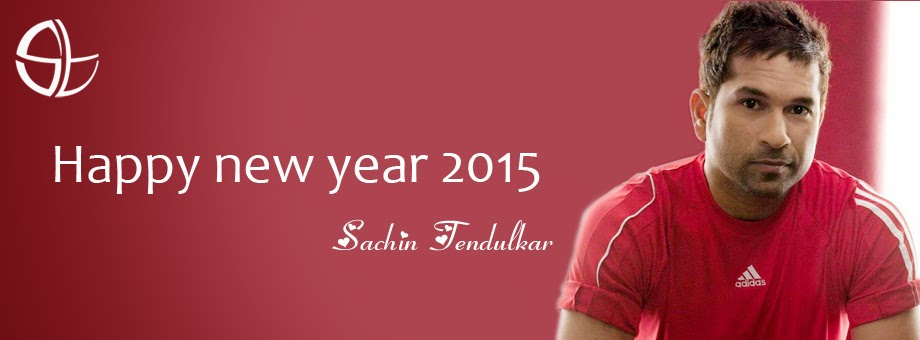 Images of New Year Wishes from Sachin Tendulkar