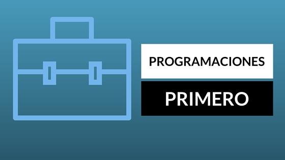 PROGRAMACIÓN 1º ED. PRIMARIA