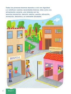 Apoyo Primaria Formación Cívica y Ética 1er grado Bloque 2 Lección 4 Necesidades y deseos