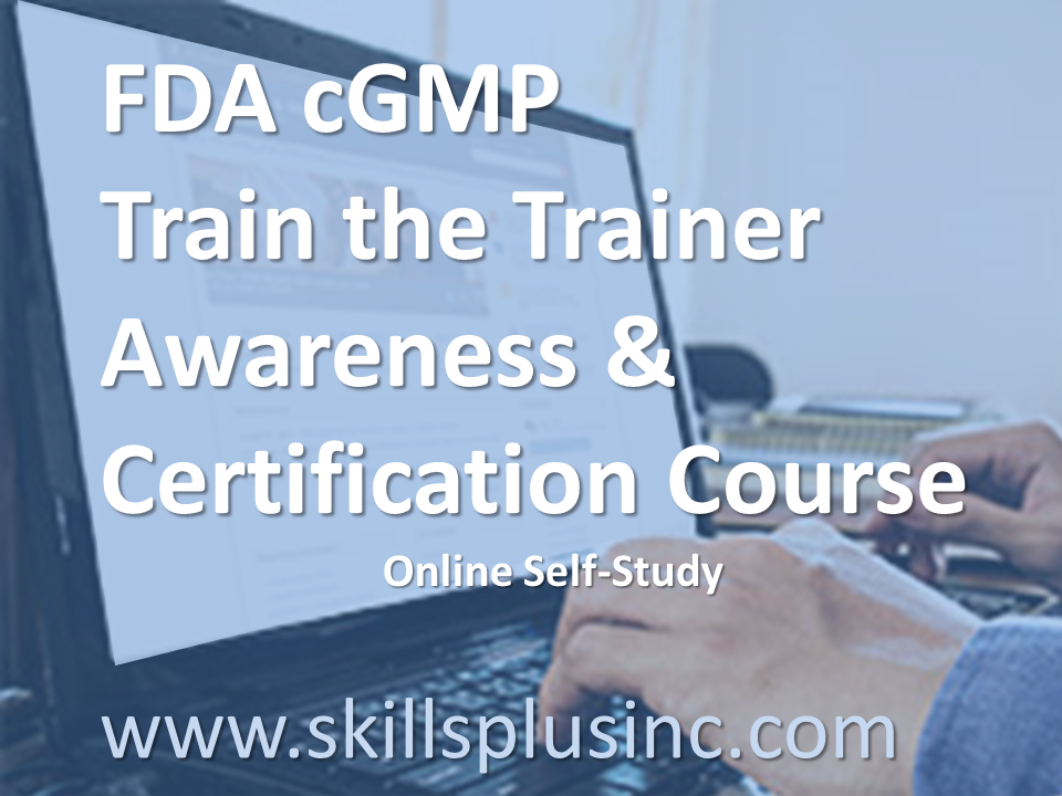 GMP Trainer Courses