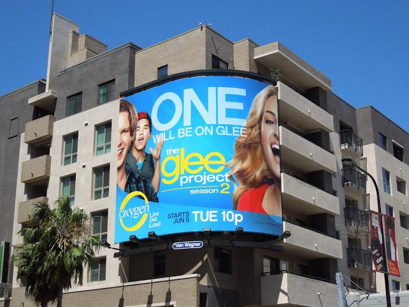 Glee Project season 2 billboard