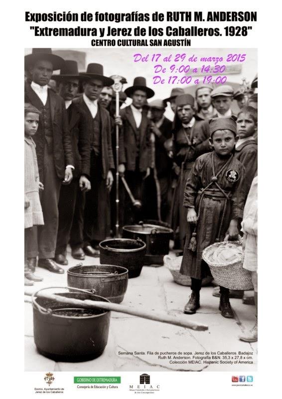 """EXPOSICIÓN DE FOTOS """"EXTREMADURA Y JEREZ  1928"""""""