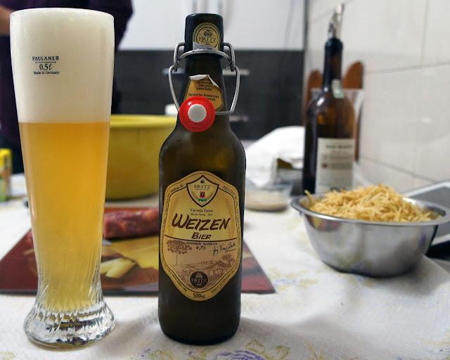 Cerveja artesanal Fritz