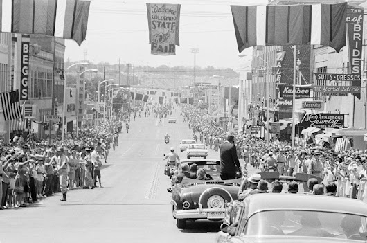 President-Kennedy-In-Pueblo-Colorado-Aug
