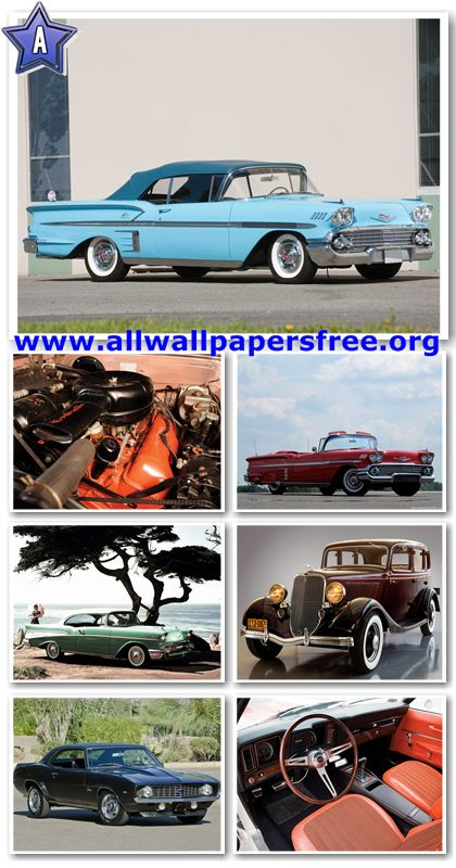 80 Amazing American Classic Cars Wallpapers 1280 X 1024 [Set 32]