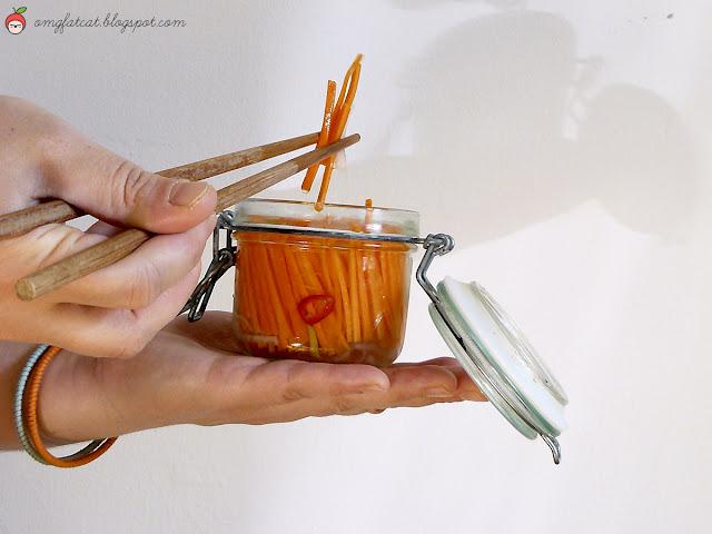 Đồ Chua pickled carrots daikon vietnamese