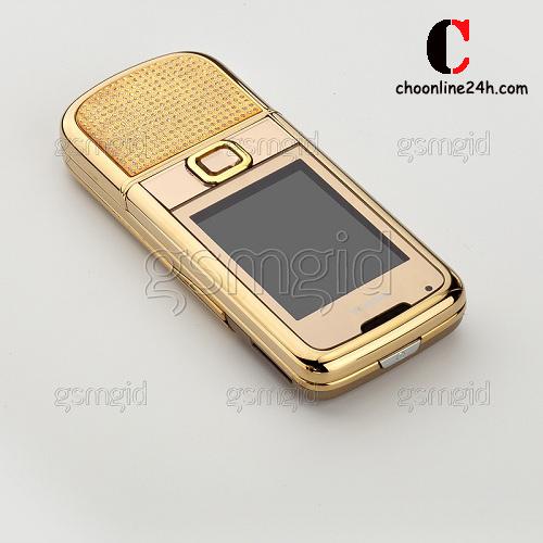 Đập hộp Nokia 8800 Gold Arte Diamond chính hãng tại Hà Nội