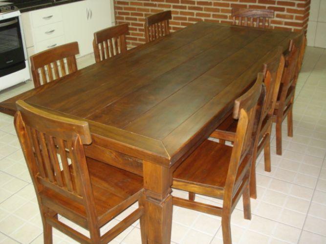 J a m veis r sticos nossa linha de mesas r sticas de - Mesas rusticas para bodega ...
