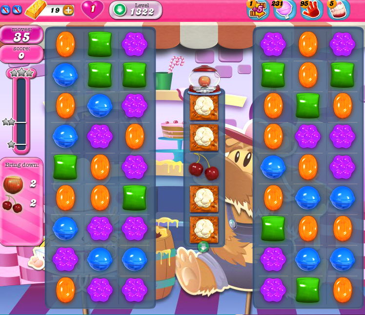 Candy Crush Saga 1322