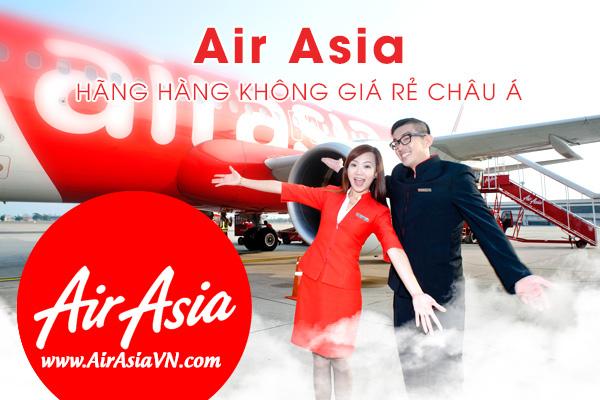 Hãng hàng không giá rẻ Air Asia