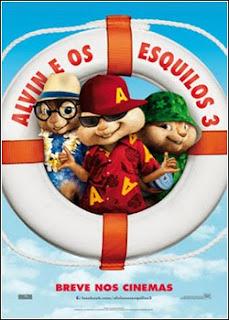 a3 Alvin e os Esquilos 3  TS AVI Dublado  RMVB