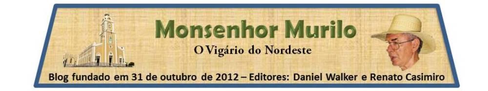 BLOG DE MONSENHOR MURILO