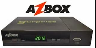 Atualizacao do receptor azbox Surprise v0021