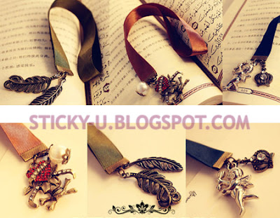 034: Vintage Ribbon Bookmark